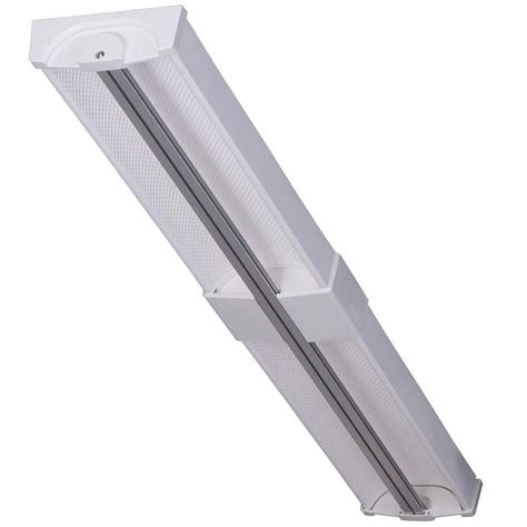 Commercial Electric Lighting Fixtures Commercial Electric 40 In Led Linear Light Fixture Rl40 40l 35k The Home Depot