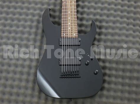 Gitar Ibanez Rg8 Bk ibanez rg8 bk 8 string electric guitar black rich tone