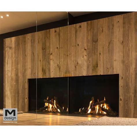 Foyer Pour Cheminee Bois by Foyers Gaz Pour Chemin 233 Es M Design True Vision Batiproduits