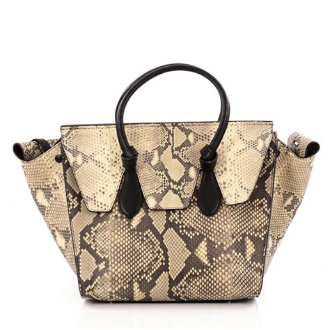 028d2ar Knot Handle Handbag Soft Pink buy tie knot tote python small neutral 1373001 trendlee