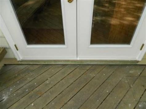 patio door install improper patio door install doityourself community