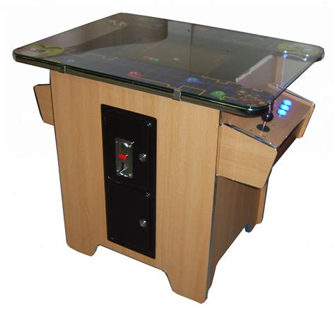 Oak Table Top Arcade Video Game Coin Operated Brand New Table Top Arcade