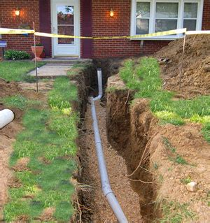 80 Yard Home Design sewer line repair residential sewer line replacement