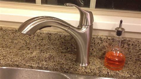 water ridge kitchen faucets review costco wr water ridge pull out faucet brushed