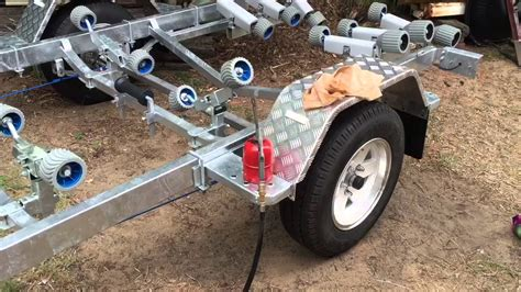 how to make a boat rust rust proofing a boat trailer youtube