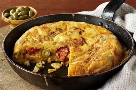 recette de cuisine en espagnol recette tortilla espagnole facile