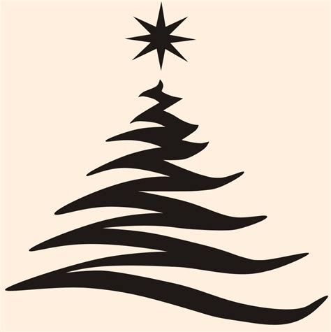 christmas tree silhouette clipart best clipart best