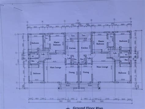 Compound Floor Plans by Cost Of Building Twins Flat Of 3 Bedrooms In Ibadan