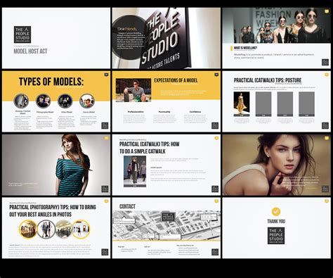 Modern Bold Powerpoint Design For Mark Tan By Creative Powerpoint Design