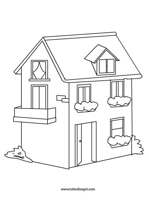casa bambino casa disegno da colorare per bambini tuttodisegni