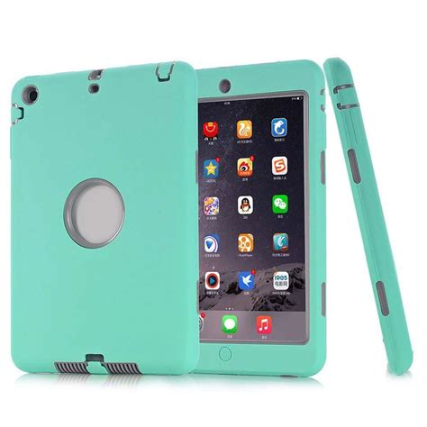 shockproof hybrid heavy duty rubber hard case cover for