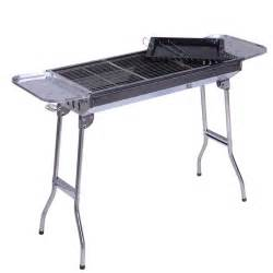 bbq portable outdoor household stainless steel folding