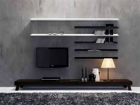 wall tv design 7 cool contemporary tv wall unit designs for your living room