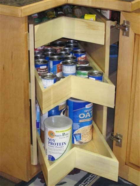 kornerking corner pantry cabinet and drawer organizers