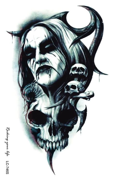 best skull tattoo designs photos 2017 blue maize