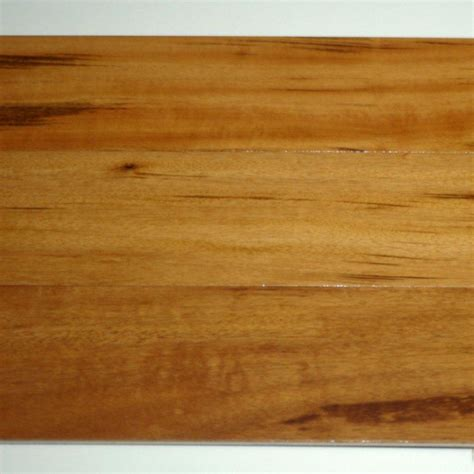 Inch Engineered Hardwood Flooring Goodfellow Tigerwood 1 2 Inch Thick X 4 3 4 Inch W Engineered Hardwood Flooring 23 44 Sq Ft