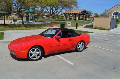 hayes auto repair manual 1989 porsche 944 seat position control sell used 1989 porsche 944 s2 cabriolet convertible guards red leather in san diego california