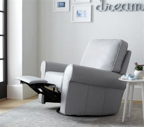 pottery barn kids recliner leather comfort swivel rocker recliner pottery barn kids