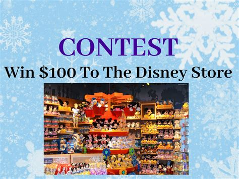 Disney Store Gift Card - contest win a disney store gift card entertain kids on a dime blog