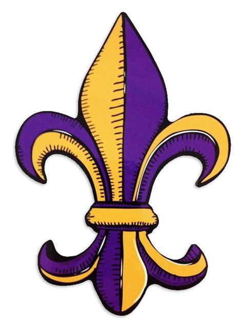 Home Decor New Orleans by Purple And Gold Fleur De Lis Car Magnet Fleurty