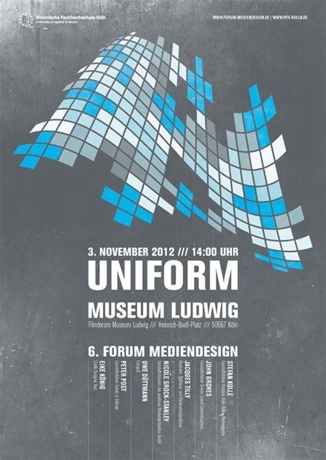 design concept poster uniform poster design by leekdesign