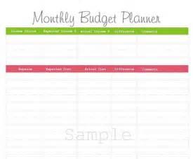 Best Household Budget Plan » Home Design 2017