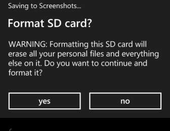 format video windows phone windows phone 8 format sd card