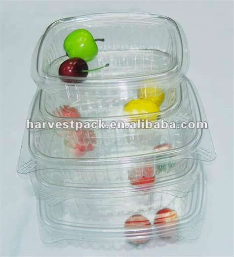 Pet Tray Salad 500ml disposable plastic pp ps ops pet food fruit salad packaging container box buy pp ps ops