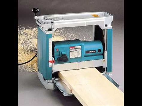 makita bench planer makita 2012nb 12 inch planer planer review youtube