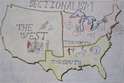 sectionalism history mr gray history student work sectionalism posters