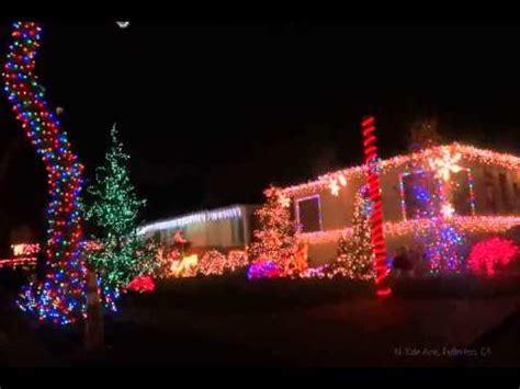 best christmas lights in fullerton sparkleballs in fullerton ca 2011 phim clip