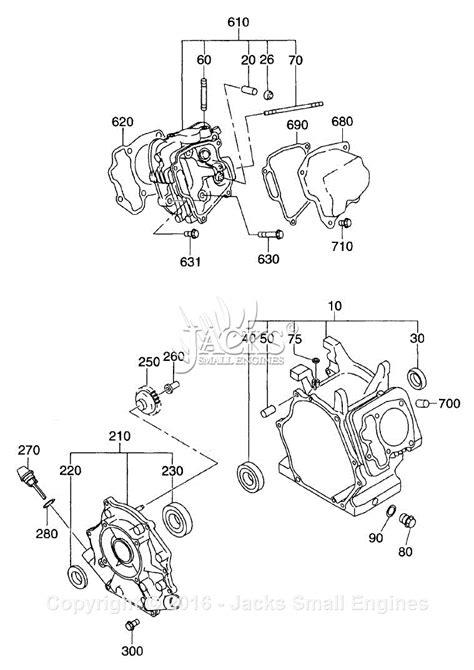 robinsubaru exd parts diagram  crankcase
