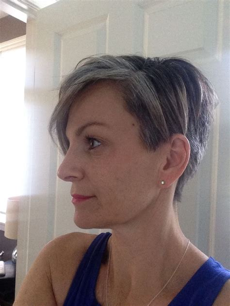 growing out grey without cutting hair 1337 best images about gorgeous gray hair on pinterest
