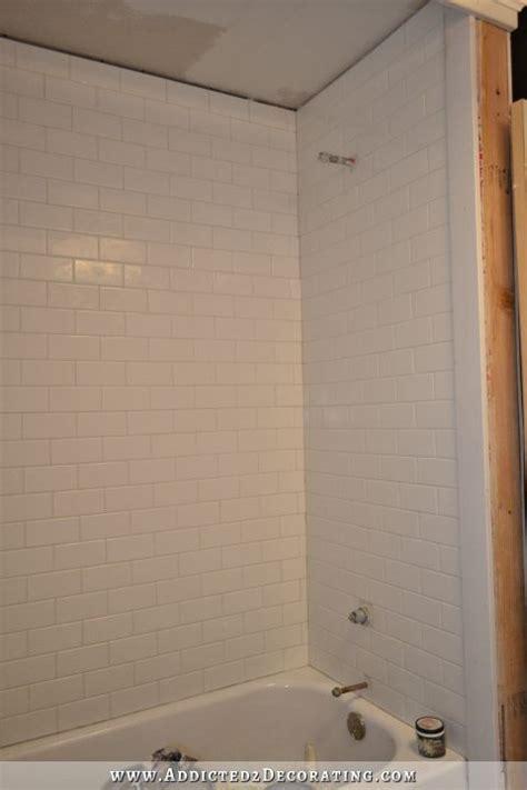 tile around bathtub surround subway tile bathtub surround