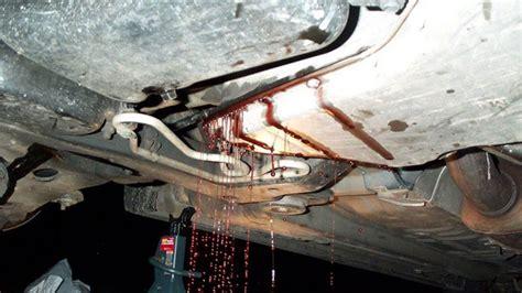 transmission fluid leaks  repair cost