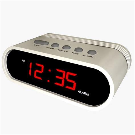 Digital Alarm Clock Generic Digital Alarm Clock 3d Model
