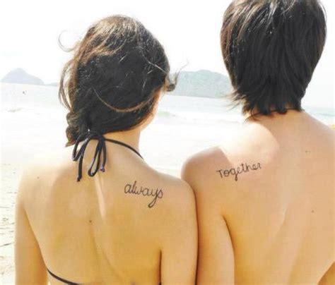 cute meaningful small couple tattoo design tattoo design