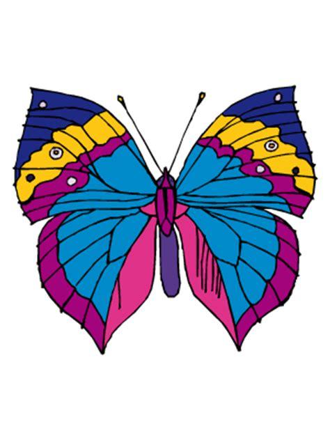 imagenes bonitas para dibujar pintadas dibujos de mariposas para colorear y pintar todopap 225 s