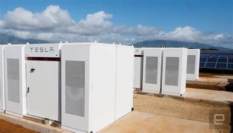 Tesla Energy Storage Tesla S New Solar Energy Station Will Power Hawaii At
