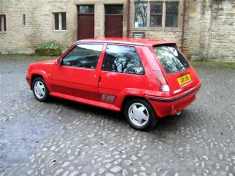 renault turbo for sale renault 5 gt turbo for sale youtube
