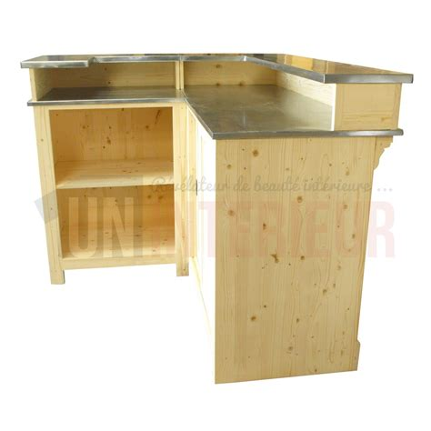Un Comptoir De Bar by Comptoir De Bar D Angle Avec 233 Vier 190 X 140 Cm
