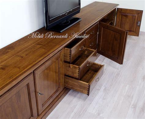 in mobile mobili tv in legno massello 5 porta tv