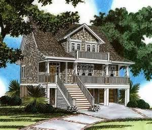 Raised House Plans by Plan 15023nc Raised House Plan Living Rec Rooms House
