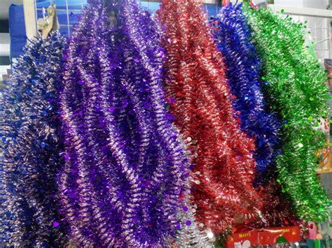 Lu Natal Berashias Warna Warni slinger natal murah warna warni