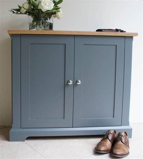 Slimline Shoe Cupboard ashford slimline shoe cupboard in a choice of colours by chatsworth cabinets