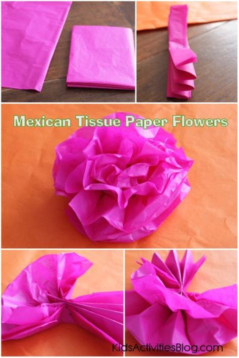 How To Make Mexican Paper Decorations - 25 best ideas about mexican paper flowers on