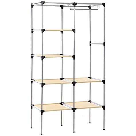 Wardrobe Clothes Hanging Rail by Aj Canvas Wardrobe Clothes Hanging Rail Cupboard Clothes