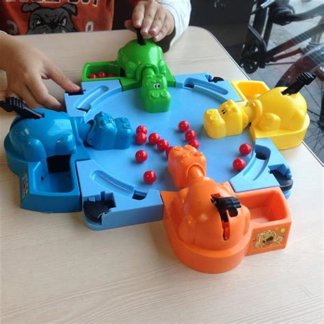 Marble Swallowing Hippo hungry hungry hippos promotion shop for promotional hungry