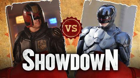 drakorindo judge vs judge judge dredd vs robocop who would win in a fight