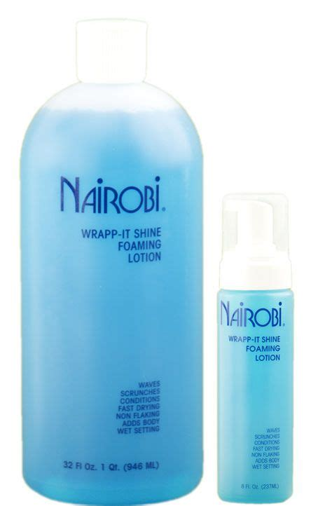 nairobi hair products official website nairobi wrapp it shine foaming lotion